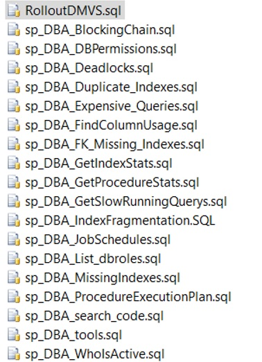 DBA_tools_list
